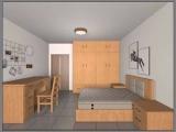 江西公寓床三种材料的区别